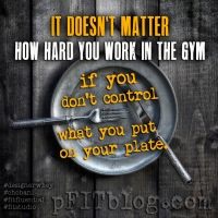 Today's Fitness Mantra: Weights VS Plates
