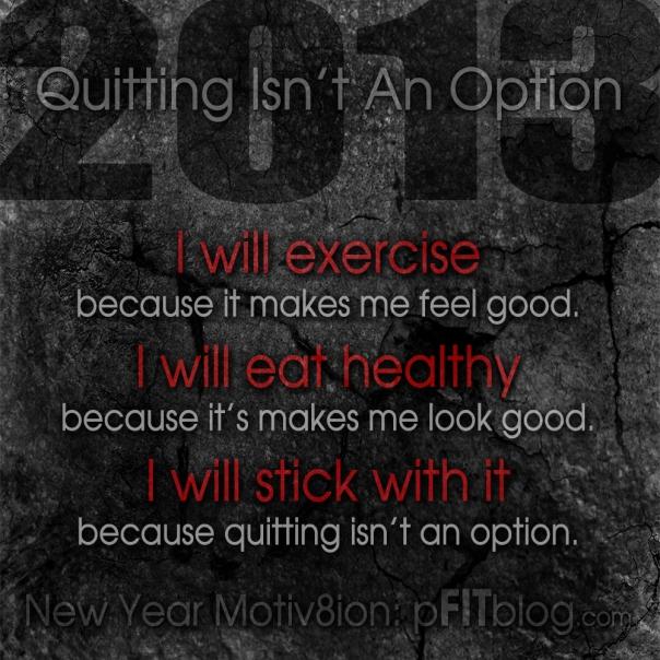 quitting isn't an option