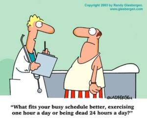 fitness cartoon