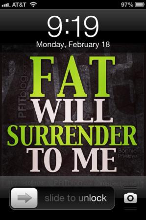 Motivational lock screen wallpaper