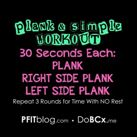 Plank Workout