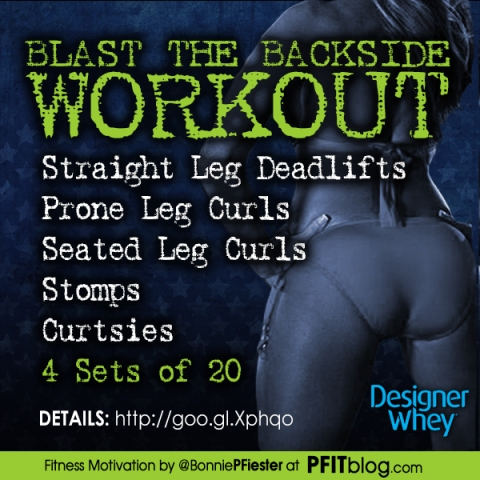 BLAST THE BACKSIDE WORKOUT