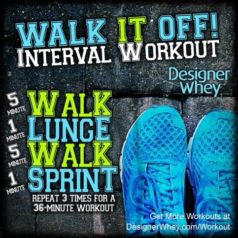 Walk It Off Workout