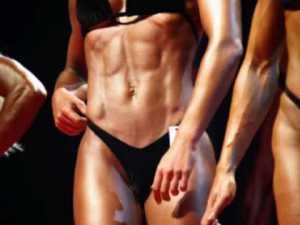 figure bikini competiters
