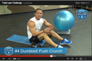 total lean challenge workout