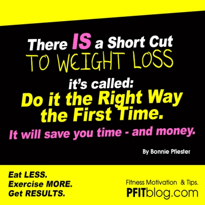 Short Cut to Weight Loss