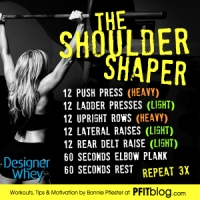 PFITblog's Best Celebrity Shoulders & Shoulder Shaper Workout