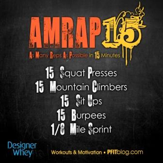 AMRAP 15
