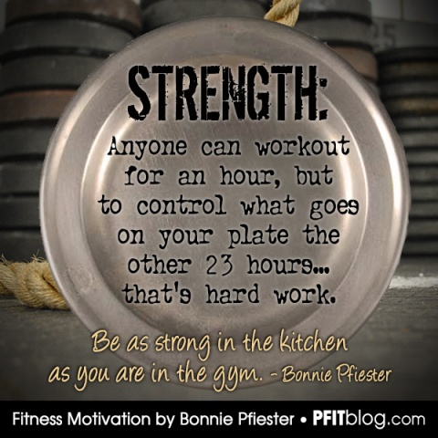 Be strong in the kitchen
