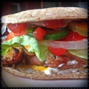 Spicy Turkey Burger