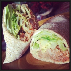 Turkey Meatloaf Wrap