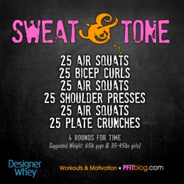 Sweat & Tone Workout