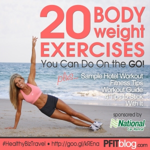 20 Bodyweight Exercises