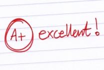 A+ excellent