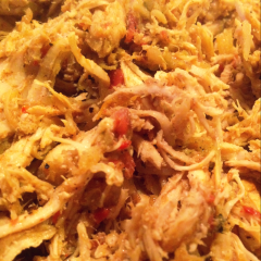 Mex-Mango Pulled Chicken