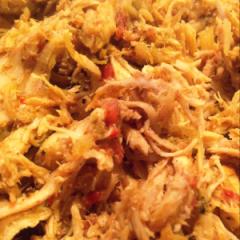 Mex-Mango Pulled Chicken