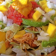 Mexi-Mango Chicken Bowl