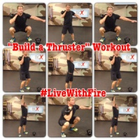 Build-A-Thruster Kettlebell Workout