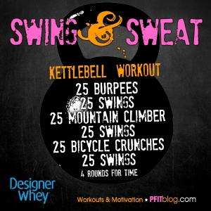 Swing & Sweat Workout