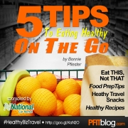 5 Tips to Eating Healthy on the Go