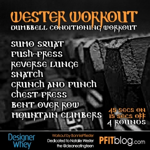 DW Wester Workout