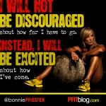 I willl not be discouraged