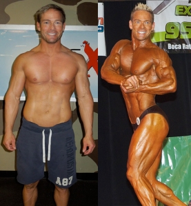 Steve Pfiester before & after