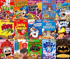 children's cereals