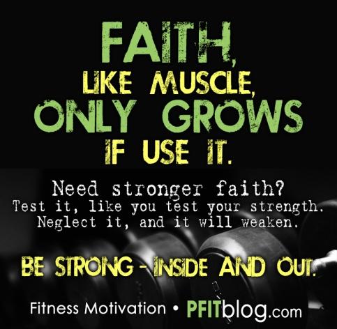 Build Your Faith Muscles