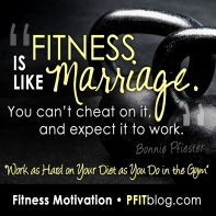 fitness is like marriage SQ