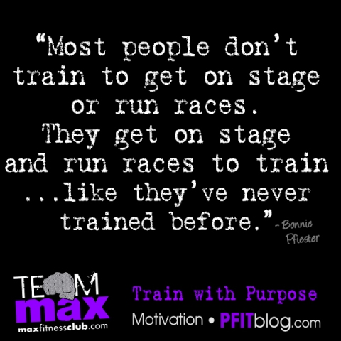 Train with Purpose