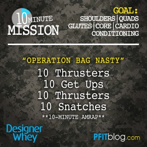 BAG NASTY workout
