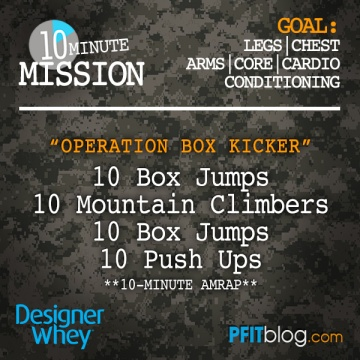 plyo box workout
