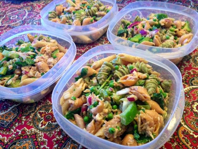 Low Fat Tuna Pasta Salad 99