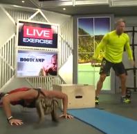 push ups & squats
