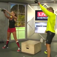 hip drive kettlebell swings