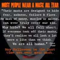What Mask Are You Wearing?