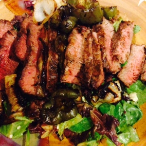 Steak Salad recipe.