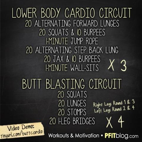 Leg & Butt Workout