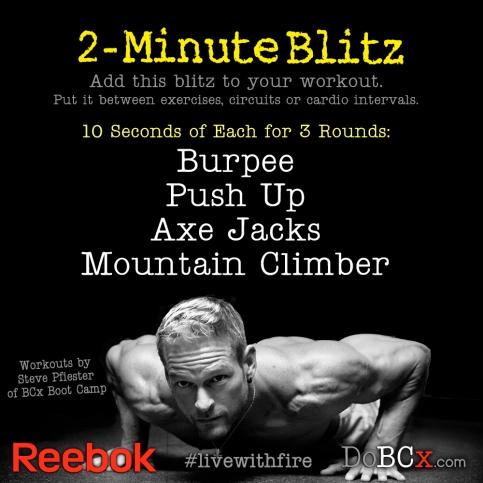 2-minute blitz