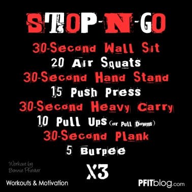 Stop & Go Workout