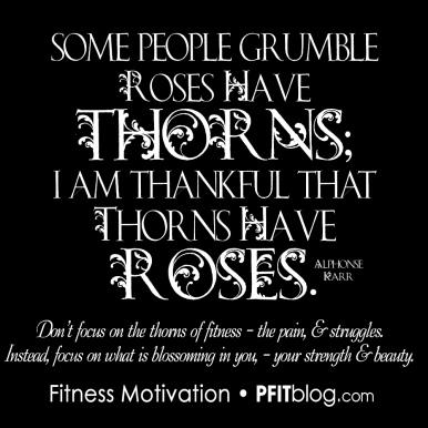 thorns vs roses
