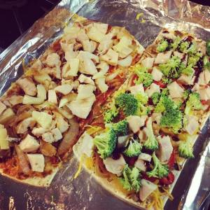 Healthy BBQ Pizza