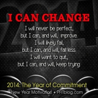 31 DAYS MOTIVATION: You Can Change in 2014
