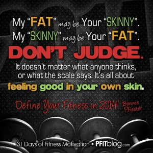 Define Your Fitness
