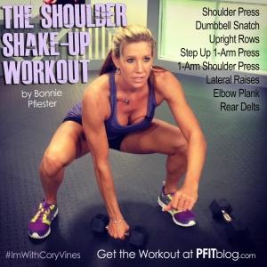 shoulder shake-up workout