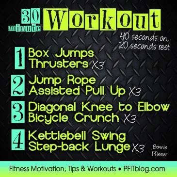 30-min workout