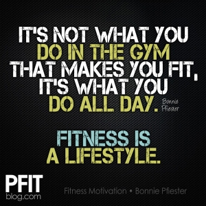 fitness is a lifestyle