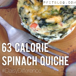 The Amazing 63 Calorie Quiche