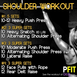 Shoulder Workout